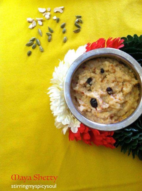 Sweet Pongal / Sakkara Pongal