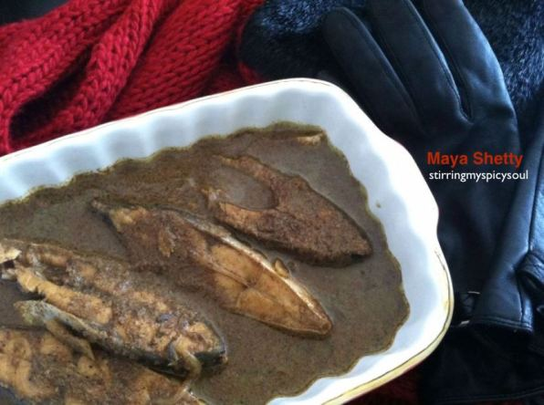Fish Curry ( Mangalaorean Style)