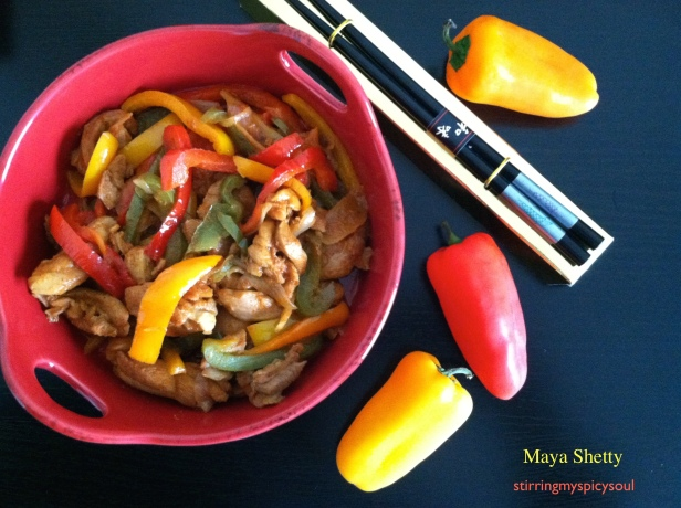 Ayam Paprika/Spicy Thai Chicken Fry