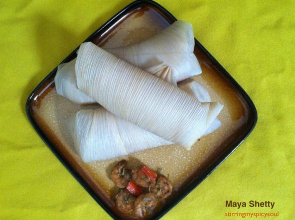 Shrimp Stuffed Tamales