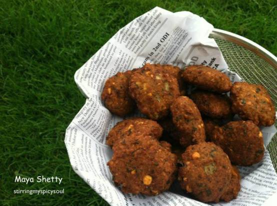 Masal Vadai/Spicy Patties