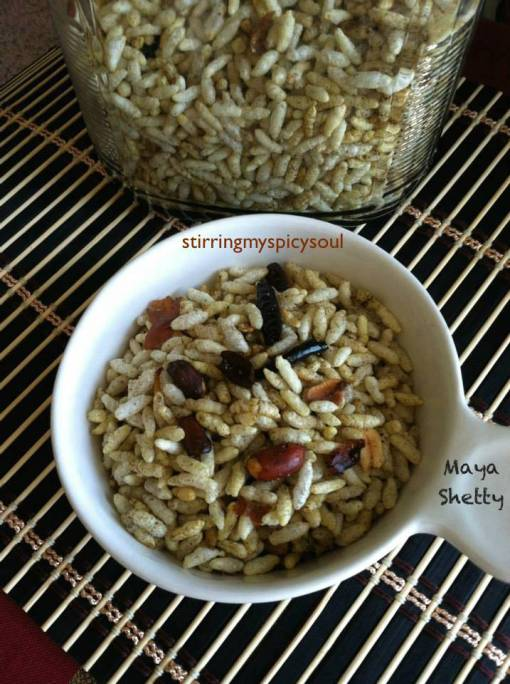 Kara Pori/Spicy Puffed Rice