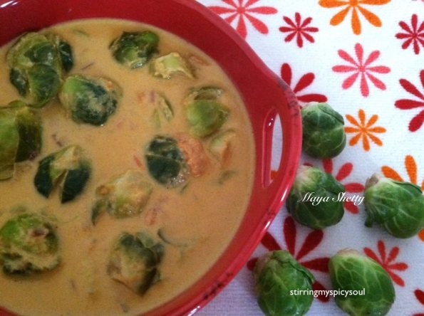 Brussel Sprouts Stew