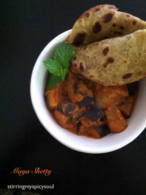 Smoked Eggplant Curry