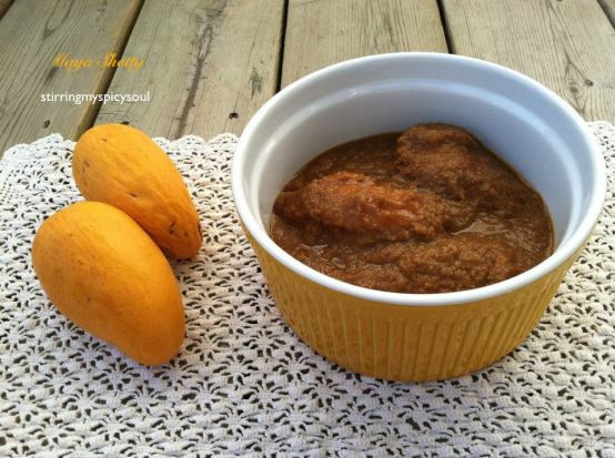 Mango Curry/ Mango Mensakai